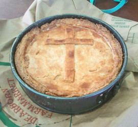 2016 Easter Spinach Pie Square