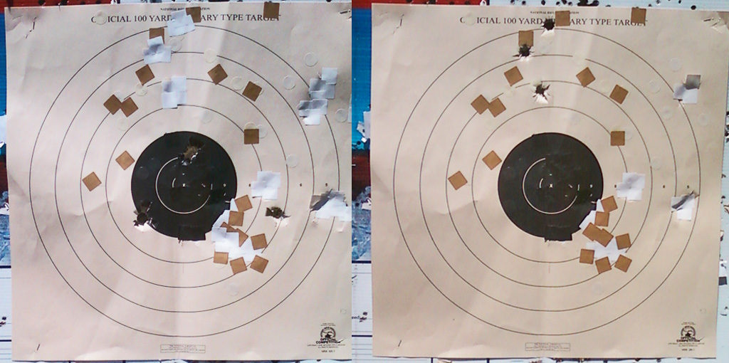 Slug Comparison, 100yds